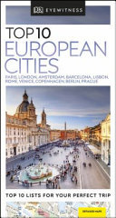 Top 10 European Cities: DK Eyewitness Travel Guide (1st edition)