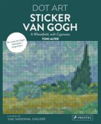Sticker Van Gogh - Dot Art
