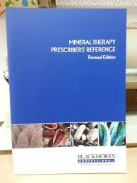 MINERAL THERAPY PRESCRIBERS REFERENCE