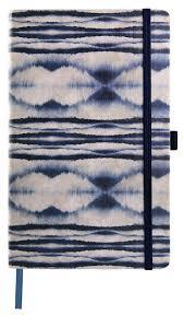 Shibori Mist Medium Ruled Notebook