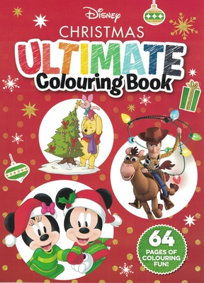 Disney Christmas Ultimate Colouring Book