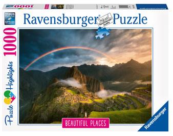 Ravensburger Rainbow Over Machu Picchu, Peru 1000pc
