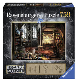 Ravensburger Escape 5 Dragon Laboratory 750pc
