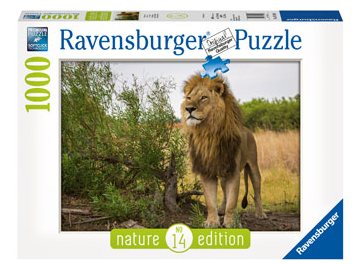Ravensburger King of the Lions Puzzle 1000pc