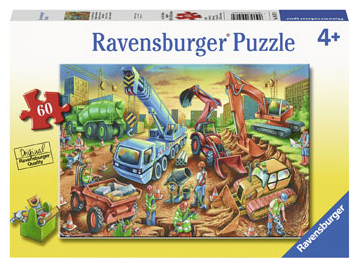Ravensburger - Construction Crew 60pcs