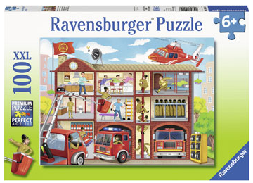 Ravensburger - Firehouse Frenzy 100pcs