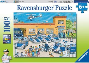 Rburg - Police District Puzzle 100pc RB10867-1