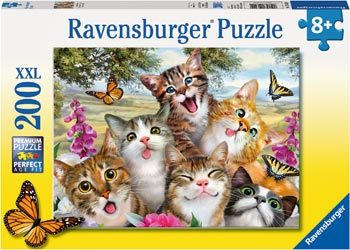 Ravensburger - Friendly Felines 200 Pcs