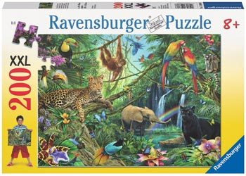 Ravensburger -Animals in the Jungle 200pcs
