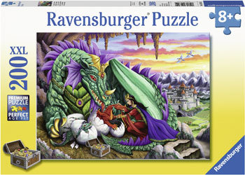 Ravensburger Queen of Dragons Puzzle 200pc