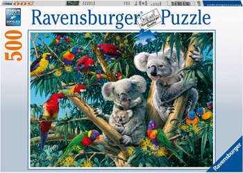 Rburg - Koalas in a Tree Puzzle 500pcs