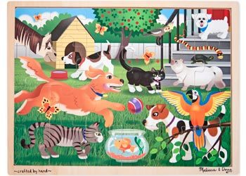 Pets At Play Puzzle 24pc