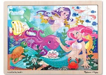 Mermaid Fantasea Wooden Puzzle 48pc