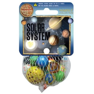 Solar System  Marble Collection