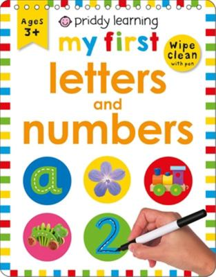 My First Letters and Numbers (Wipe Clean Easels)