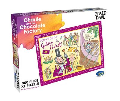Charlie and the Chocolate Factory 300 pce puzzle