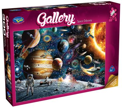 Space Odyssey - Gallery 300 pc puzzle