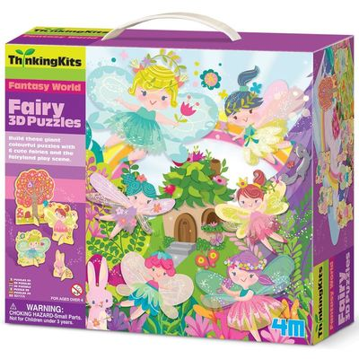 ThinkingKits 3D Puzzles Fairy
