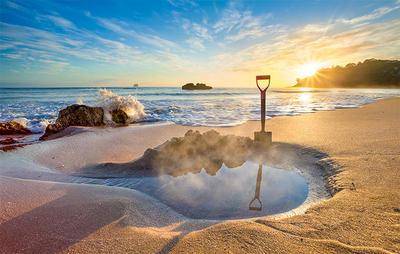 Hot Water Beach Magnet - MPBR