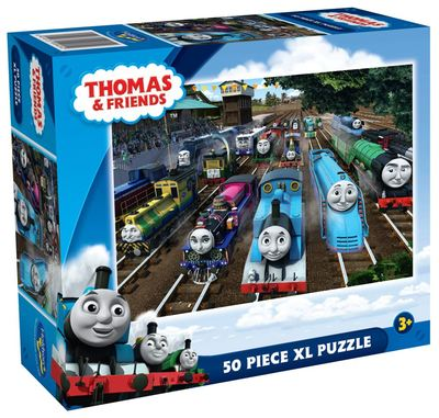 """Thomas """"The Great Railway Show' 50pc XL puzzle"""