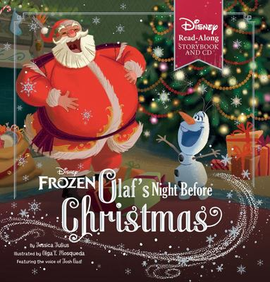 Olaf's Night Before Christmas (Disney Frozen - Book and CD)
