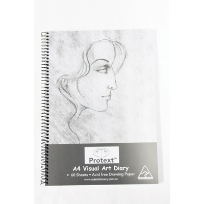 A4 Visual Art Diary 60 sheets 120 pages - NB5010 - GNS