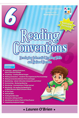 Reading Conventions Year 6 - Developing Inferential Reading Skills and National Focuses - T4T
