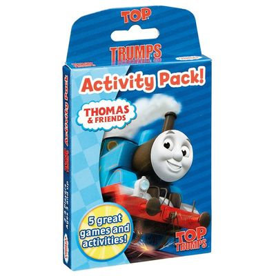 Thomas the Tank Trump Activity Cards