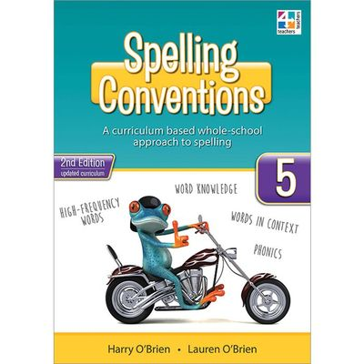 Spelling Conventions Year 5 2E - T4T