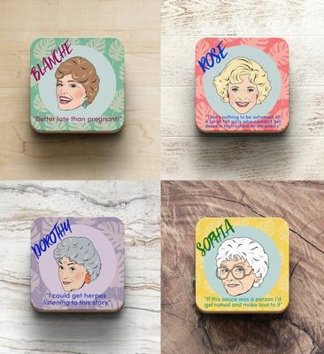 The Golden Girls Drinks Coasters