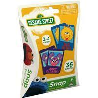 Sesame Street Snap Card Game