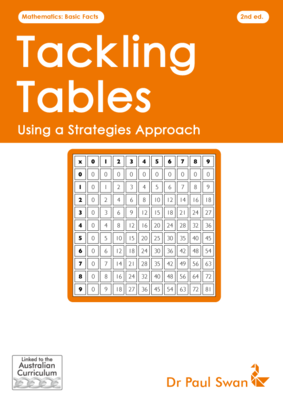 Tackling Tables - Using a Strategies Approach 2E AC - Paul Swan