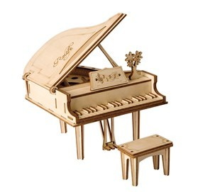 CLASSICAL 3D WOODEN GRAND PIANO PUZZLE