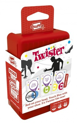 Twister Shuffle Cards