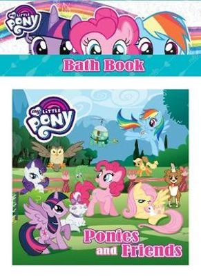 My Little Pony Ponies & Friends Bath Book