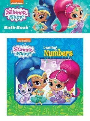 Shimmer & Shine Learning Numbers Bath Book