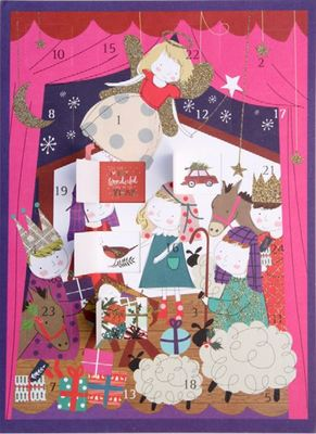 Once Upon a Time Children's Nativity Advent Calendar