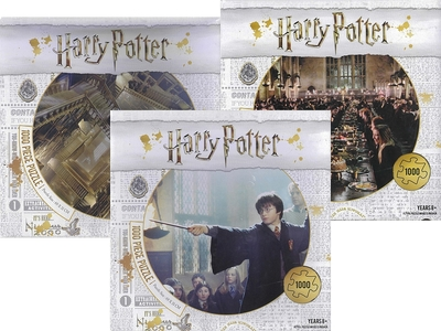Harry Potter Battle of Hogwarts: 1000-piece Jigsaw Puzzle (018101)
