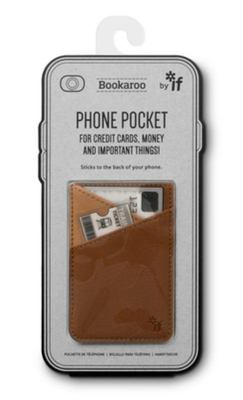 PHONE POCKET BROWN