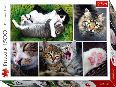 Just Cat Things 1500 Piece Jigsaw Puzzle