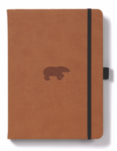 Dingbats* Wildlife Brown Bear Notebook A5+ Plain
