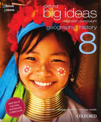 Oxford Big Ideas Geography/History 8 AC Student Book - SECONDHAND