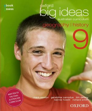 Oxford Big Ideas Geography/History 9 Student Book + Obook/assessAustralian Curriculum - Secondhand