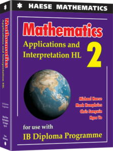 Haese IB Maths Appplications & Interpretation HL