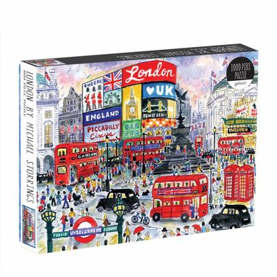 London by Michael Storrings: 1000-Piece Jigsaw Puzzle (G0735359642)