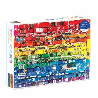Rainbow Toy Cars 1000 Pc Puzzle g0735360150