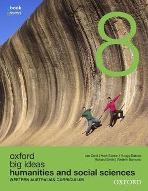 Oxford Big Ideas Humanities and Social Sciences 8 WA Curriculum Student Book -SECONDHAND