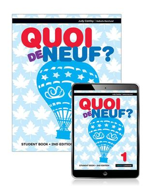 Quoi de Neuf? 1 Student Book with EBook (2nd Edition)