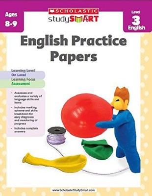 Study Smart English Practice Papers level 3