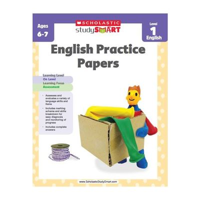Study Smart English Practice Papers level 1